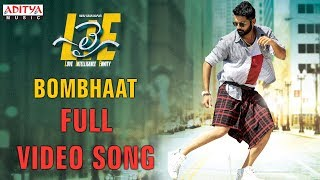 Bombhaat Full Video Song | Lie Video Songs | Nithiin , Megha Akash | Mani Sharma