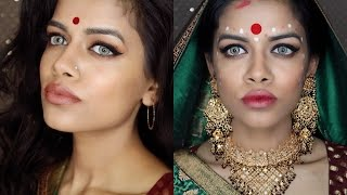 getlinkyoutube.com-Devdas: Aishwarya Rai Makeup Tutorial