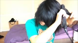 getlinkyoutube.com-♥ Messy Emo/Scene Hairstyle For Short Hair ♥