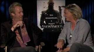 getlinkyoutube.com-ANONYMOUS Interviews with Rhys Ifans, Jamie Campbell Bower, Joely Richardson and Roland Emmerich
