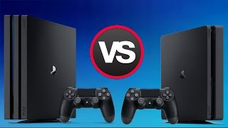 getlinkyoutube.com-PS4 Pro vs PS4 Slim - All you need to know BEFORE BUYING !