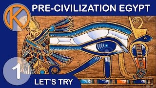 getlinkyoutube.com-Let's Try Pre-Civilization Egypt | Temple Of Horus - Ep. 1 | Steam Gameplay / Let's Play