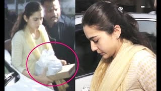 Sara Ali Khan Brings Food For Jhanvi Kapoor Who Is Still In Shock After Mother Sridevi's Demise