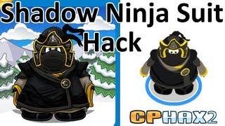 Club Penguin - Shadow Ninja suit hack