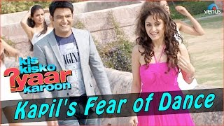 Kis Kisko Pyaar Karoon | Behind The Scenes | Kapil's Fear of Dance width=