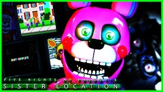 getlinkyoutube.com-FNAF Sister location CUSTOM NIGHT🌟SECRET ENDING MINIGAMES🌟 Five Nights at Freddy's Sister Location
