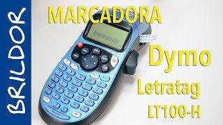 getlinkyoutube.com-Etiquetadora Dymo Letratag LT100-H