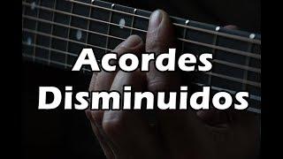 ¿Como usar los acordes Disminuidos en la Guitarra?
