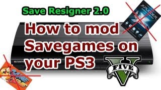 getlinkyoutube.com-How to MOD Savegames on PS3 - Save Resigner 2.0 - Full Tutorial [HD]