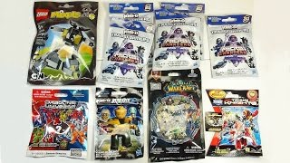 getlinkyoutube.com-Opening 10 Blind Bags! World Warcraft Star Trek Dragon Universe Lego Mixels Tenkai Knights