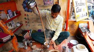 Indian Street Food   SPICED MILK TEA Masala Chai