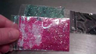 getlinkyoutube.com-Candles By Victoria more glitter colors!!