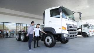 getlinkyoutube.com-HINO VICTOR 500 Introduce delivery truck to customers