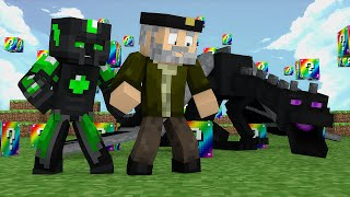 getlinkyoutube.com-Minecraft: EL MATA-DRAGONES!! c  sTaXx   RAINBOW Lucky Blocks Epic Race