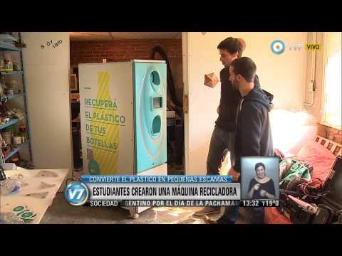 Visión 7 - Invento argentino para reciclar botellas de plástico