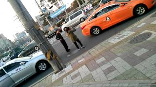getlinkyoutube.com-신풍택시기사와아줌마싸움