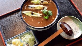getlinkyoutube.com-お蕎麦屋さんの厨房でカレー蕎麦を作る様子を撮影する(京ヶ崎)