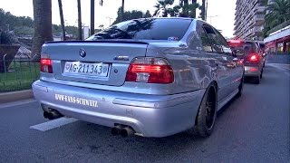 getlinkyoutube.com-BMW M5 E39 V8 w/ Eisenmann Race Exhaust!