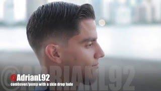 getlinkyoutube.com-How to do a combover/pomp with a skin drop fade | by Adrian Lima
