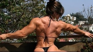 getlinkyoutube.com-Sexy muscular women collection of muscular girls Девушки качки