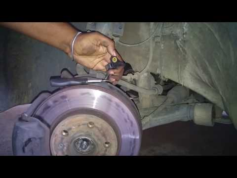 How to Change an Abs speed sensor - Vw Polo 9n3