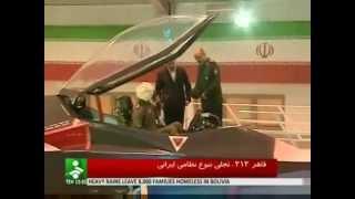 getlinkyoutube.com-イラン 国産ステルス戦闘機【飛行映像を公開 2013】Qaher 313