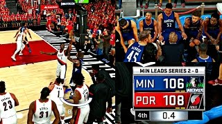 getlinkyoutube.com-DOWN BY 20 POINTS! THE MOST AMAZING COMEBACK I'VE EVER SEEN! - NBA 2K17 MyCAREER Playoffs CFG3