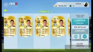 El mejor tradeo con Messi   Comprar a Messi   Fifa 15 Ultimate Team   Como ser millonario en Fifa 15 width=