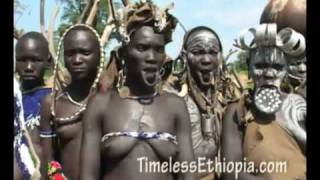 getlinkyoutube.com-Ethiopia - Mursi tribe