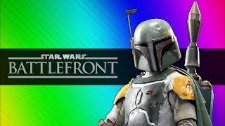 getlinkyoutube.com-Star Wars Battlefront Beta Funny Moments - Darth Vader vs. Luke Skywalker!