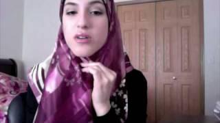 getlinkyoutube.com-How to Wear a Basic Square Scarf (Hijab Tutorial)