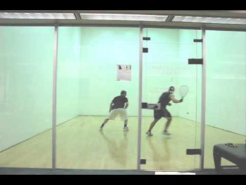 How to Play Racquetball - Game Play Analysis for Mike