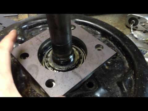 Снятие кольца АБС с полуоси Ford Ranger, Mazda BT-50 часть 3 из 3