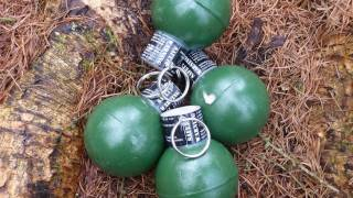 getlinkyoutube.com-Airsoft Grenade - TLSFX Ring Pull Grenade