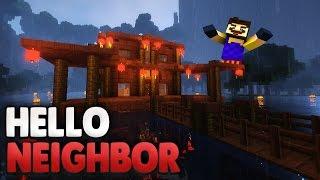 getlinkyoutube.com-Das Haus am See ... 😧   Minecraft Hello Neighbor