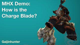 getlinkyoutube.com-MHX Demo [Live]: How is Charge Blade?