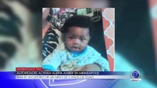 Autoridades activan Alerta Amber en Minneapolis tras el secuestro de un niño de 2 años de edad