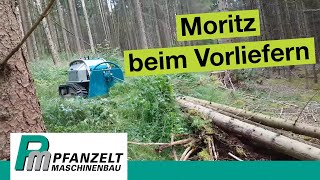 getlinkyoutube.com-Pfanzelt Fällraupe Moritz Fr50