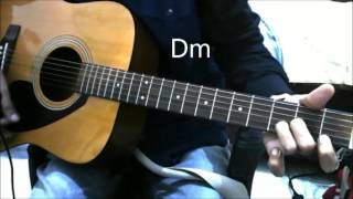 Pehla Nasha - Simple complete GUITAR COVER LESSON CHORDS BOLLYWOOD romantic song