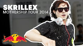 getlinkyoutube.com-Skrillex and Friends prep for MotherShip Tour 2014