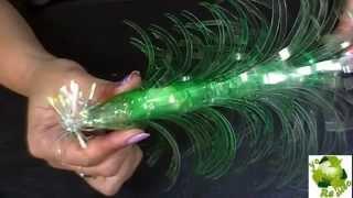 getlinkyoutube.com-Como hacer un pinito de navidad con botellas