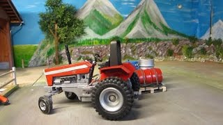 getlinkyoutube.com-RC TRACTOR  ACTION - Tomy the Troublemaker -  rc toy fun