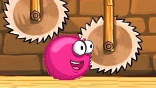 getlinkyoutube.com-Красный ШАР против шмелей и ежей Red Ball Мультик игра для детей frizzle fraz часть 2 - 2