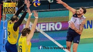 getlinkyoutube.com-Brazil vs USA | 15 July 2016 | Final Round | 2016 FIVB Volleyball World League