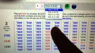 getlinkyoutube.com-LOTTODDS: NJ Pick 3 Guaranteed Lotto Win - Evening - Day 3