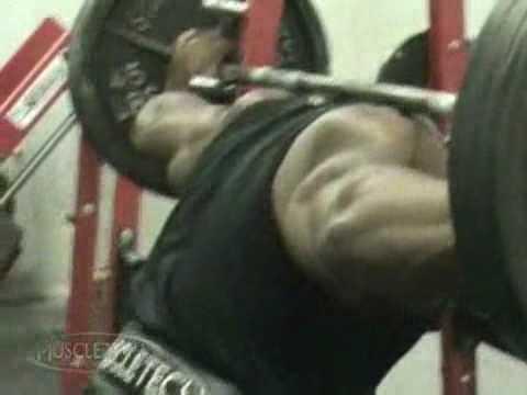 Джонни Джексон тренировка ног