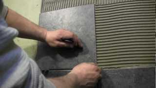 getlinkyoutube.com-How to tile a shower wall- Cutting and Installing Wall Tile