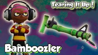 getlinkyoutube.com-Splatoon Multiplayer - Tearing It Up W/ Bamboozler (Bamboozling on the Bridge!)