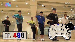[Infinite Challenge] 무한도전 - EXO youngest Jae Seok Yoo is dance prodigy?! 20160917