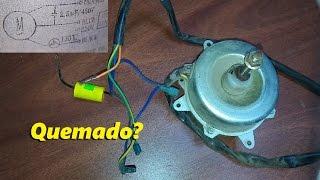 getlinkyoutube.com-Motor Ventilador - Bobinado quemado